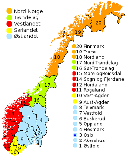 Norway Parliamentary Election Preview RRH Elections - Norway election map